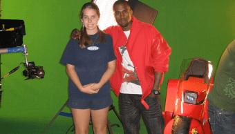 Kanye disfrazado de Kaneda de Akira