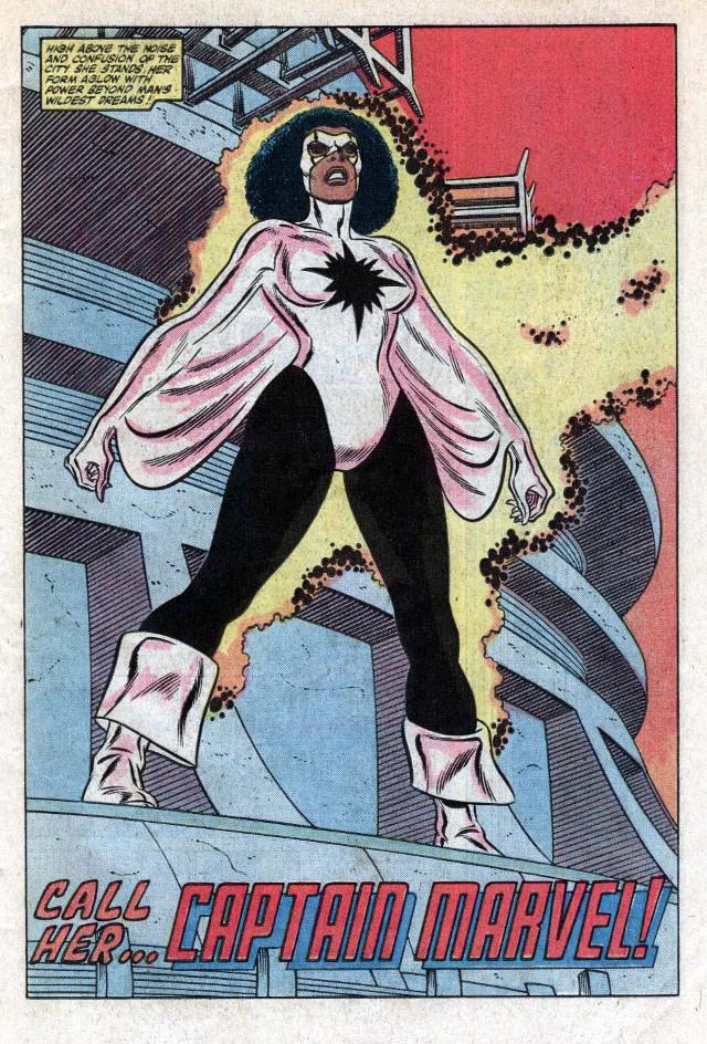 Primera aparición de la CApitana Marvel II en Amazing Spider-Man Annual # 16