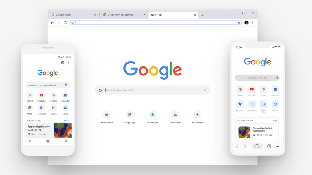 Nuevo Chrome (Google)