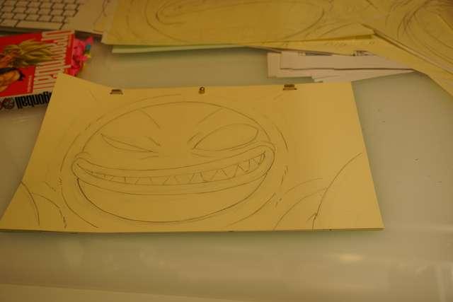 Boceto del insecto. Dragon Ball Super: Broly (Toei Animation)