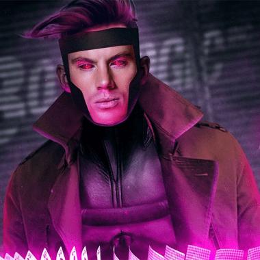 Chaning Tatum como Gambit según el artista BossLogic