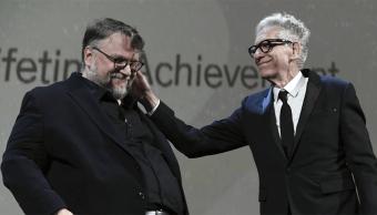 Guillermo del Toro y David David Cronenberg