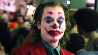 El guason, joker en una escena de la película