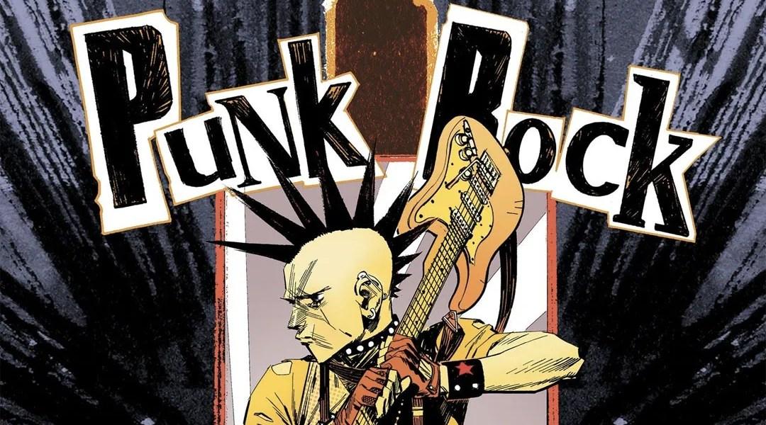 Portada de Punk Rock Jesus cómic