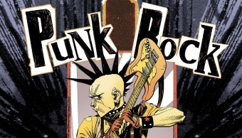 Portada de Punk Rock Jesus cómic