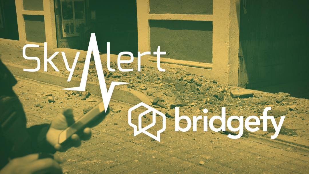 SkyAlert Bridgefy Alertas Sismos