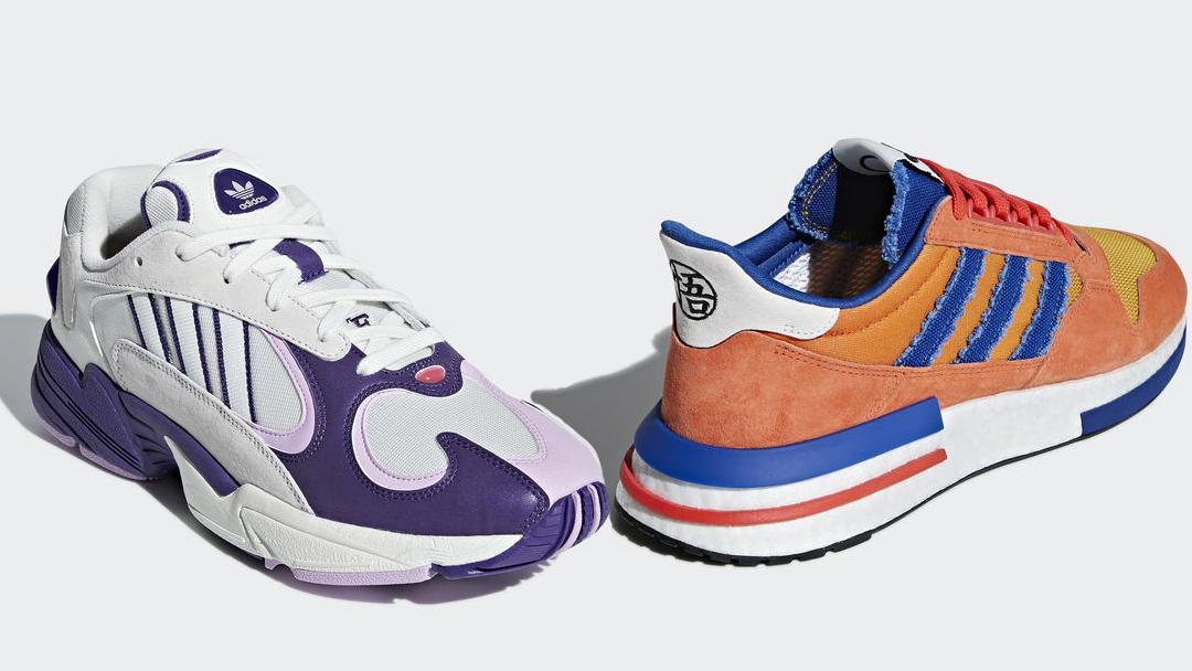 adidas dragon ball z goku