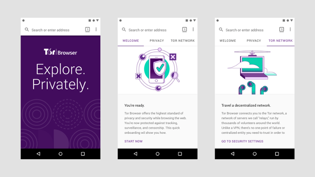 Tor Browser para Android