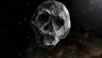 Asteroide Calavera TB145