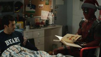 Deadpool y Fred Savage en una escena de la próxima película de Deadpool