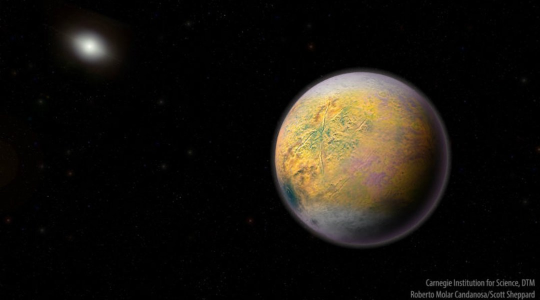 Hay nuevo planeta enano en el Sistema Solar: se llama Goblin