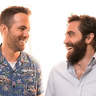 Jake Gyllenhaal y Ryan Reynolds juntos