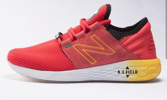 Neon Nenesis Evangelion de New Balance