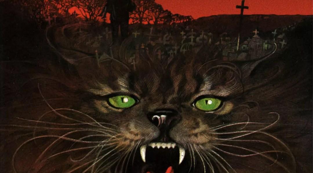 Portada del libro Pet Semantary de Stephen King