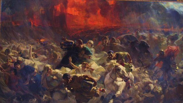 Así murieron en Pompeya cuando el Vesubio hizo erupción