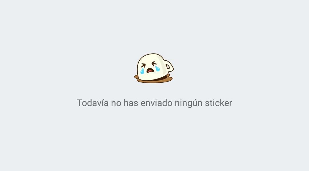 Un Sticker de la app WhatsApp
