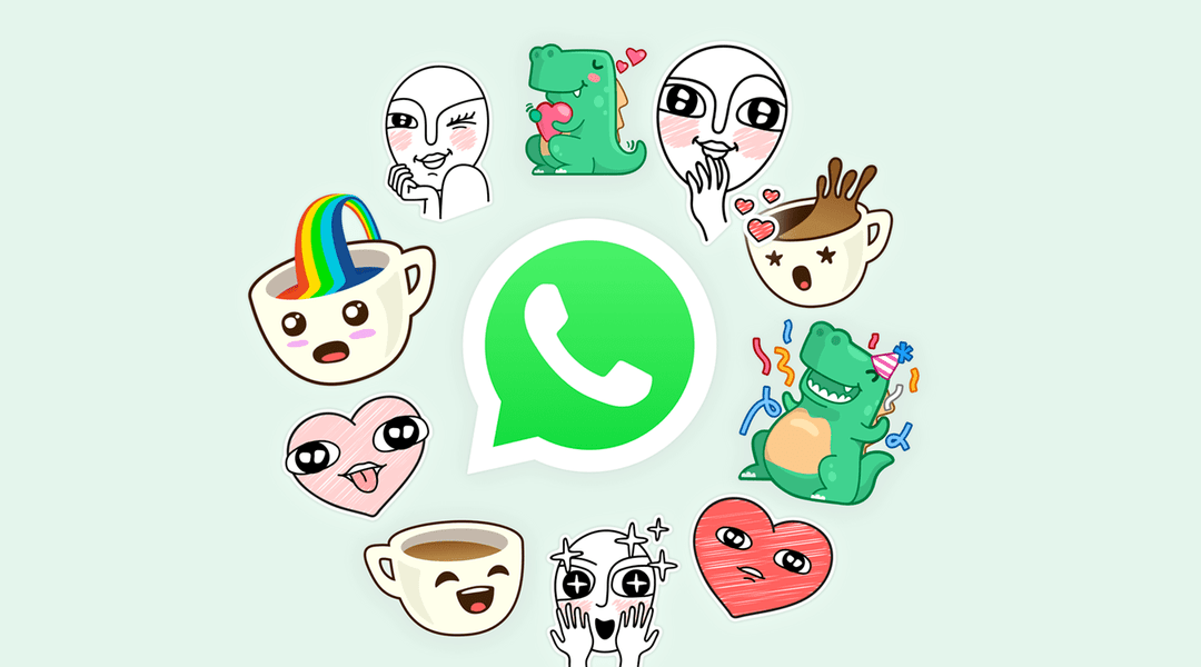 Estos son los Stickers oficiales de WhatsApp