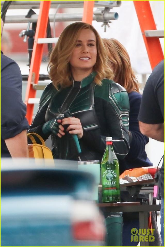 Fotos filtradas del set de Capitana Marvel