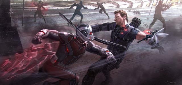 Arte conceptual de Capitán América: Civil War.