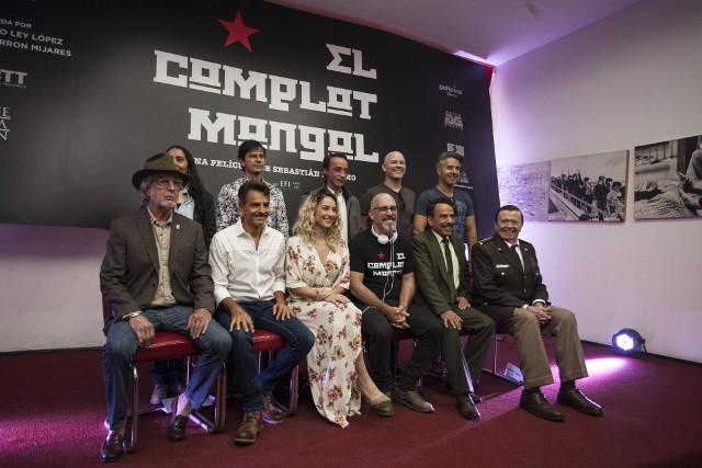 El elenco de 'El complot mongol', de Sebastián del Amo