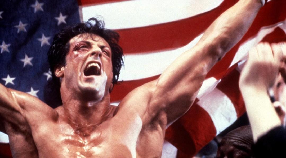 El actor Sylvester Stallone en Rocky