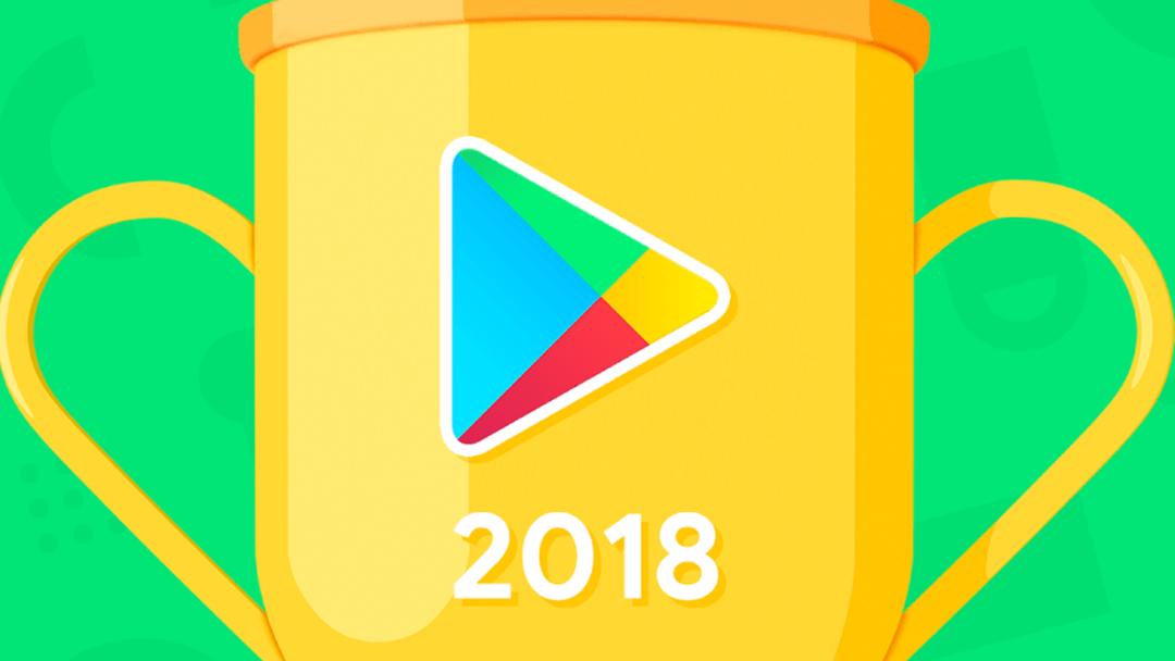 Imagen promocional de las mejores Apps del 2018 de google