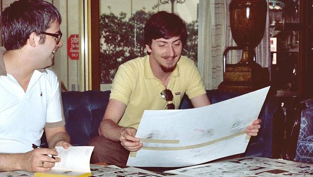 Frank Miller en la Comic Con de San Diego en 1982