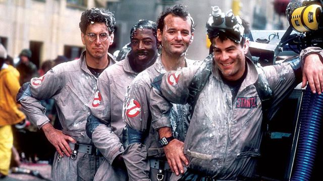 imagen promocional de la película Ghostbusters