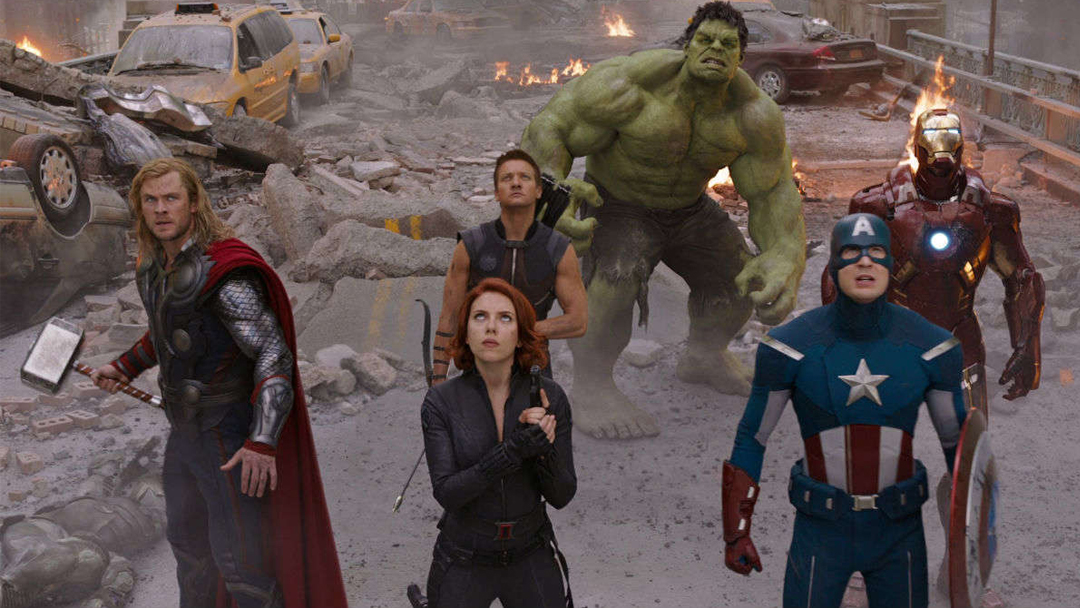 Ten Year Challenge, Avengers, Marvel, Reto