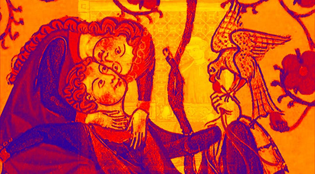 Amor Internet Mentira en una pintura clásica