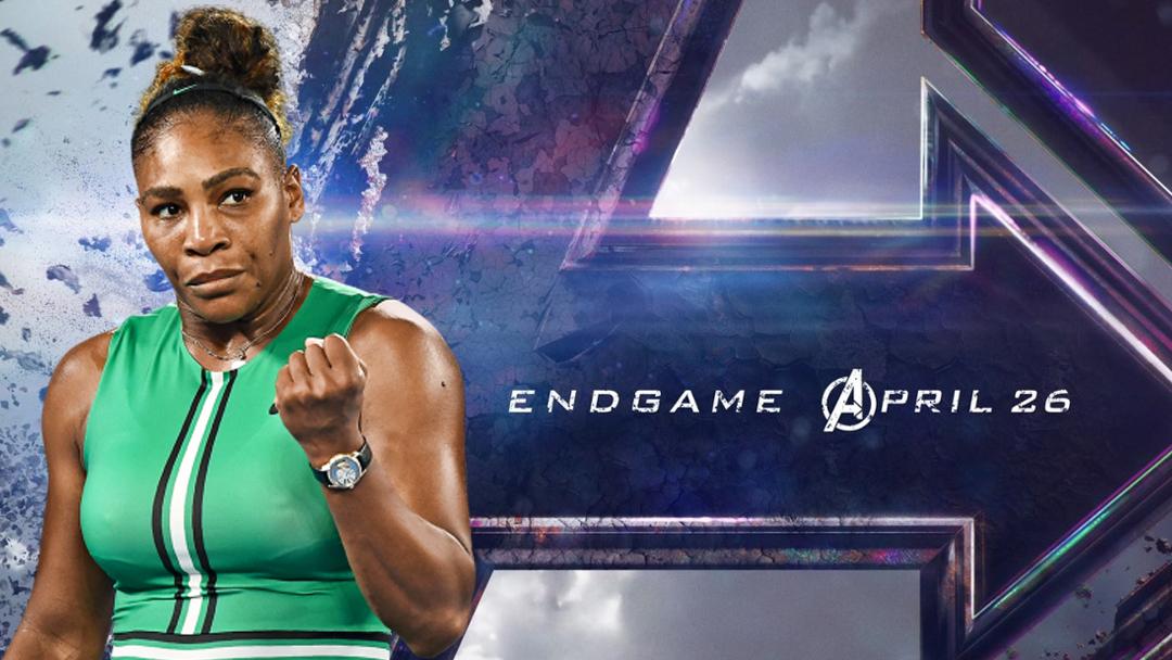 Avengers, Endgame, Serena Williams, Spoiler