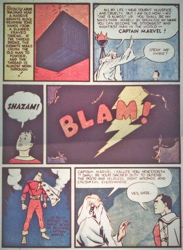 Billy Batson, Captain Marvel, Shazam, Trailer