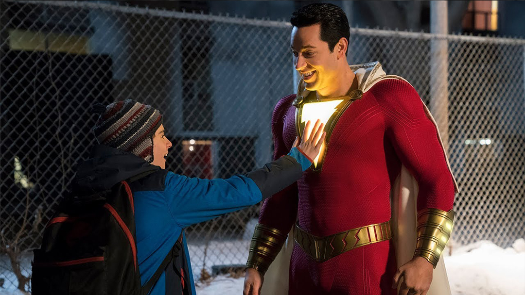 Billy Batson, Captain Marvel, Shazam, Trailer