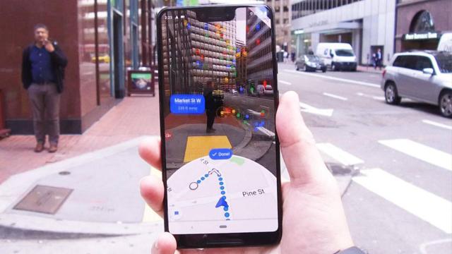 Google Maps, Realidad Aumentada, Google, Privacidad