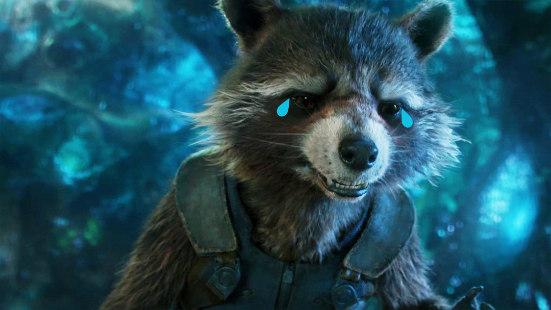 ¡Adiós, Rocket Raccoon! Falleció el mapachito de Guardianes de la Galaxia