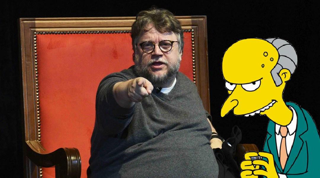 Guillermo del Toro tendrá una aparición en Los Simpson