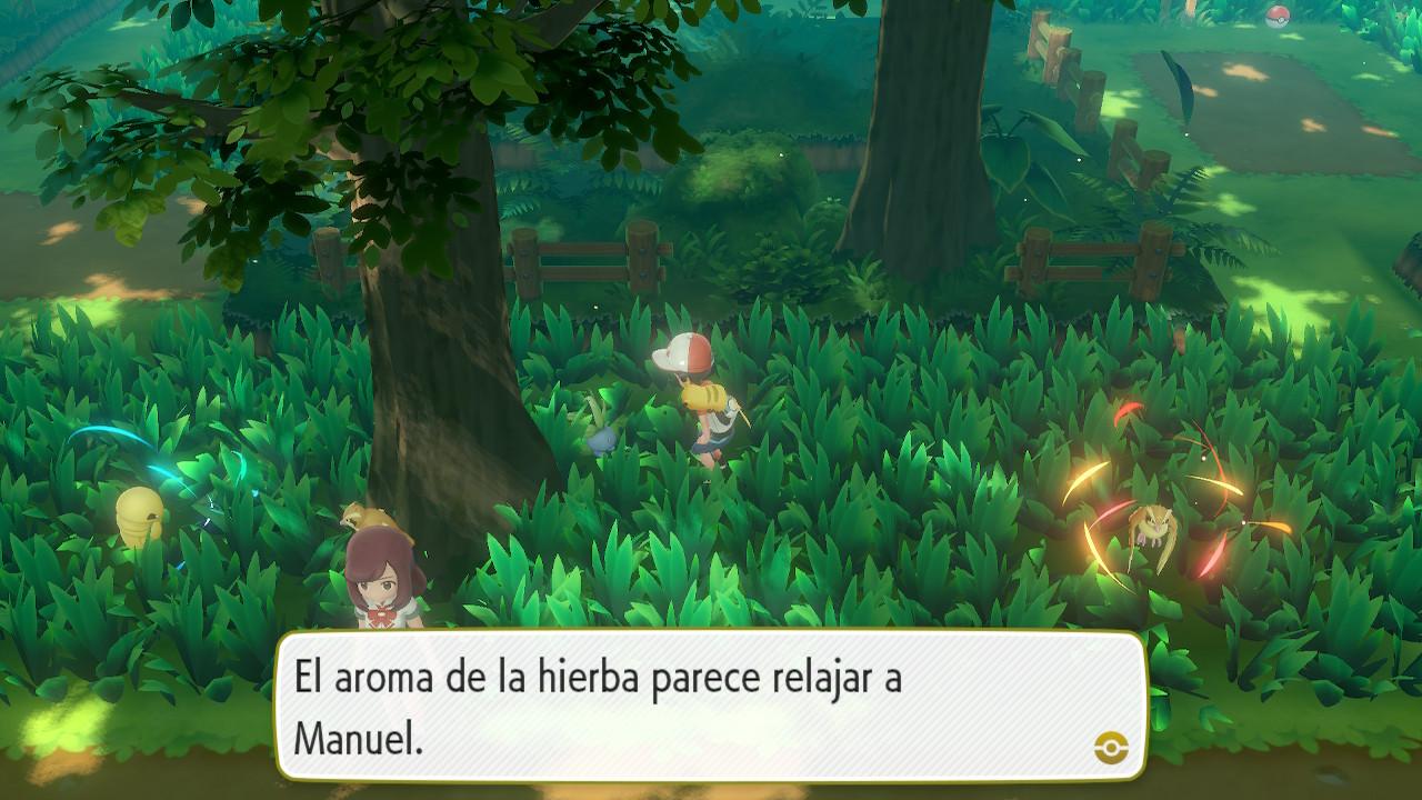 pokemon-lets-go-pikachu-oddish-bosque-verde