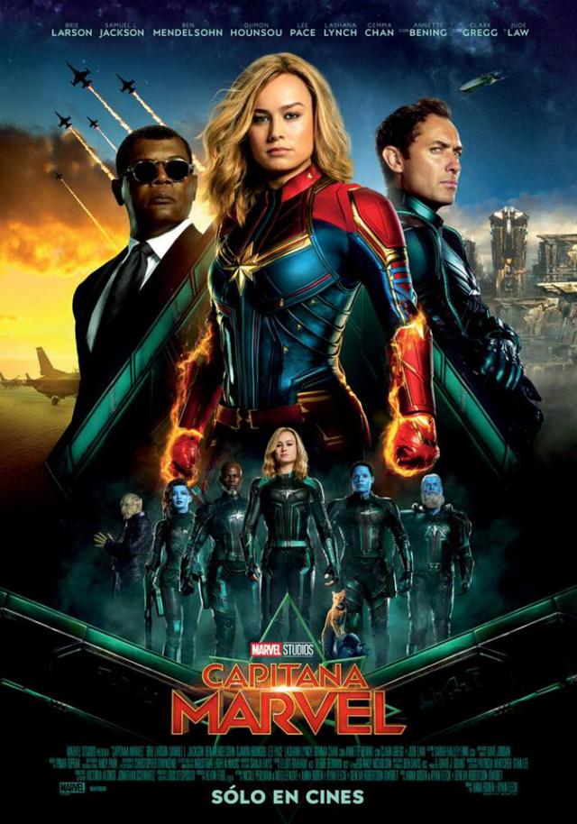 Capitana Marvel-Poster-Internacional