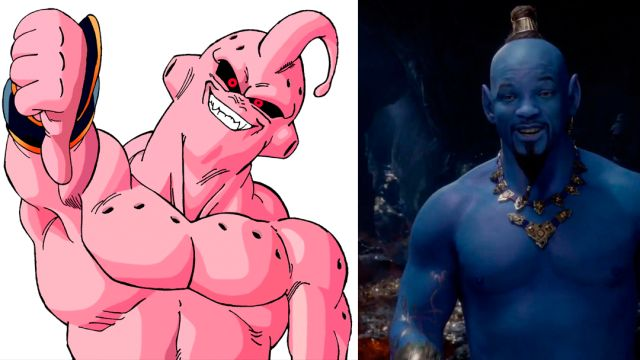 Will Smith, Majin Buu, Genio, Aladdin