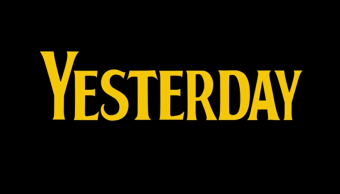Logo de Yesterday, la nueva película de Danny Boyle