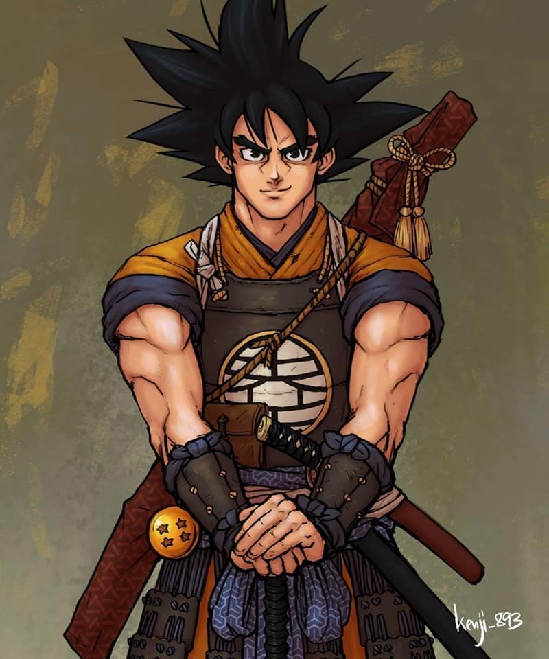 Dragon Ball, Fan Art, Goku, Super