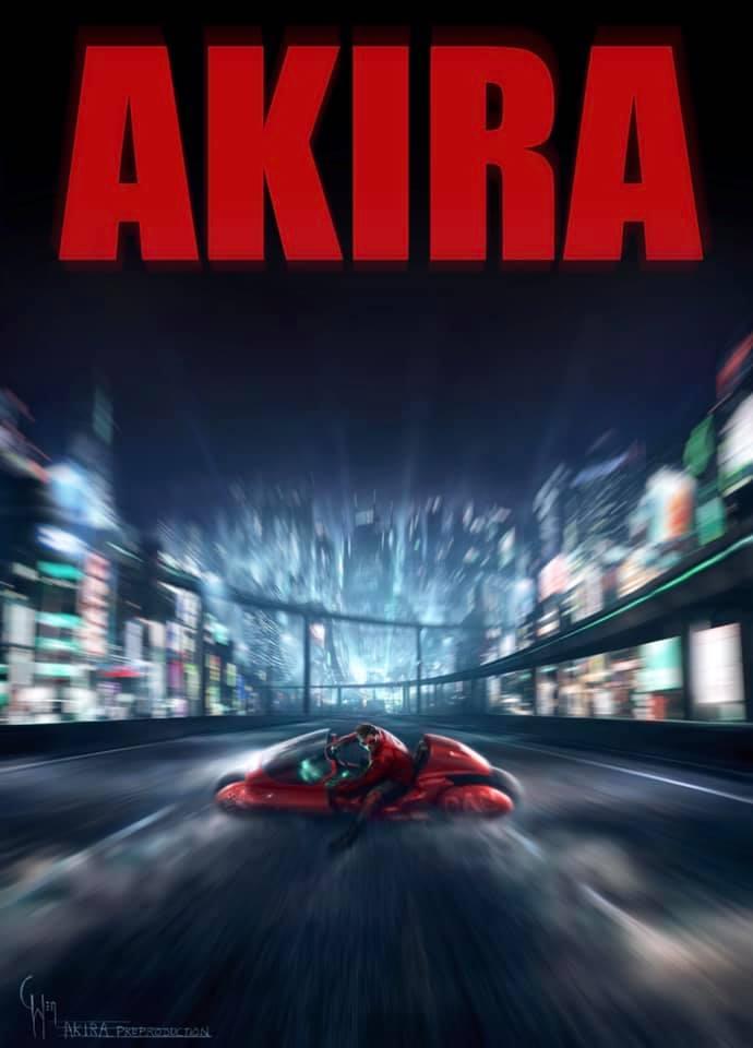 Akira, Live Action, Anime, Película