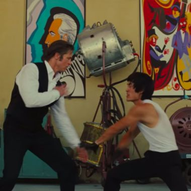 Bruce Lee-Brad Pitt-Once-Upon A Time In Hollywood