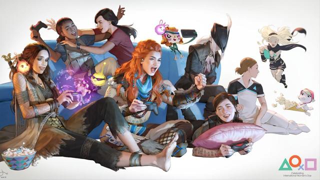Día Internacional de la Mujer, 8 Marzo, PlayStation, Tema