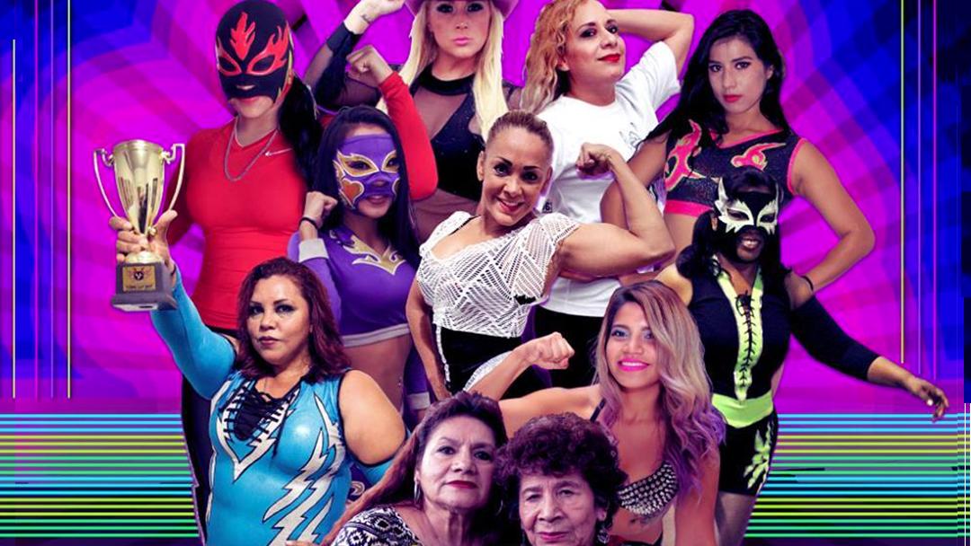 Luchadoras mexicanas de la arena la Femenil
