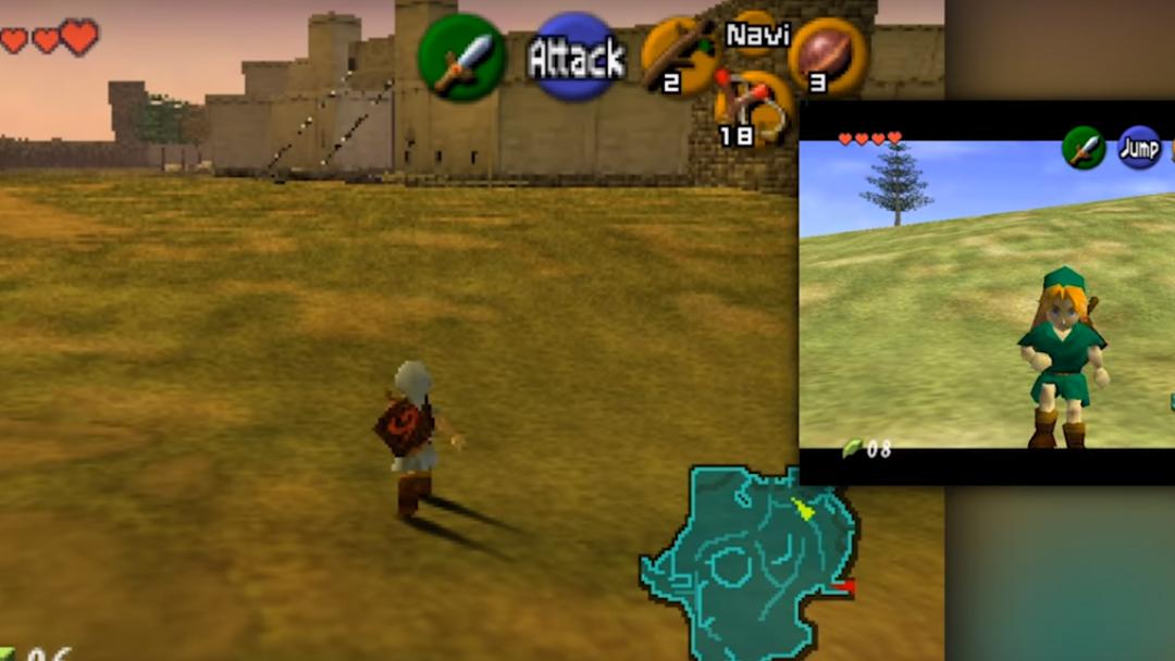 Ocarina of Time, Zelda, Mod, Co-op
