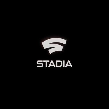 El logo de Stadia, servicio de Google