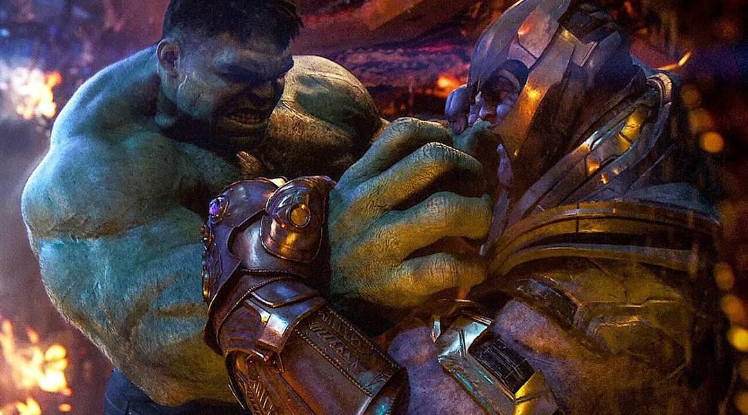 Resultado de imagen para hulk endgame gif