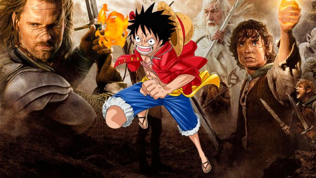 The Lord of the Rings, One Piece, Ganancias, Manga