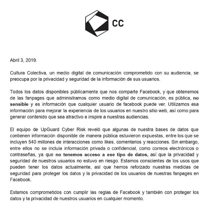 Facebook Cultura Colectiva